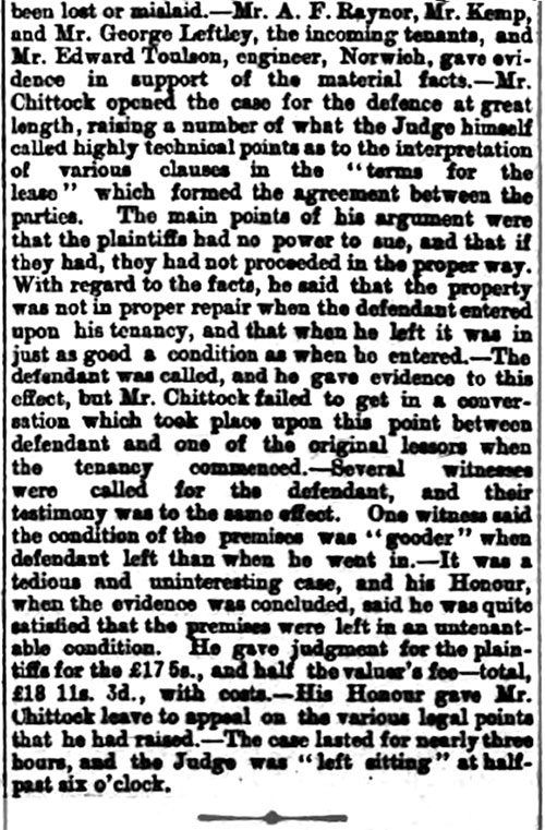 East Anglian Daily Times - 9th April 1892