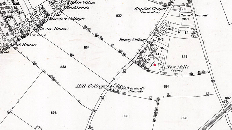 O.S. Map 1882