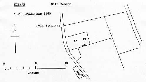 Tithe map 1840