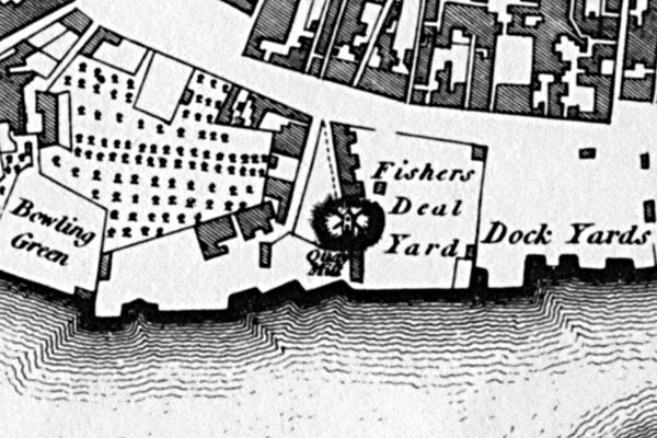 Closeup from Faden's Map - 1797