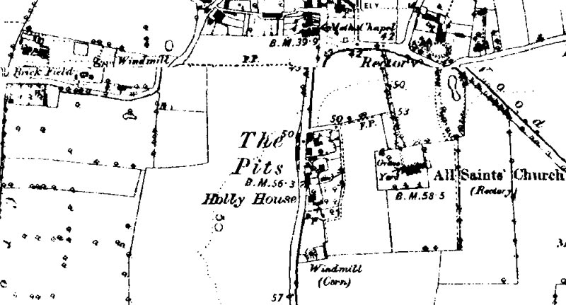 O.S. Map 1890 - 1891