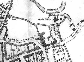 Burnet's plan of Kings Lynn 1846