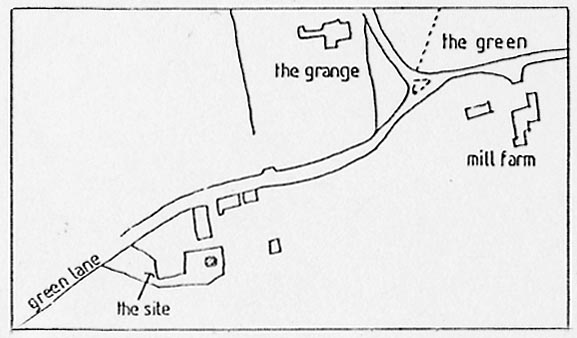 Site plan October 1988