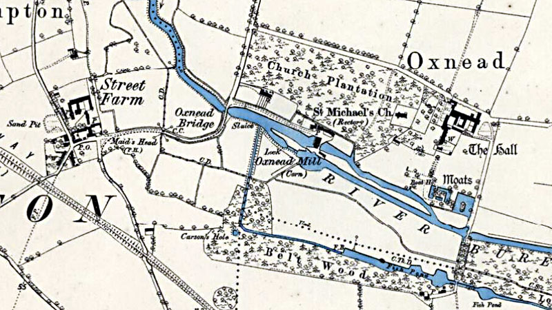 O.S. Map 1885