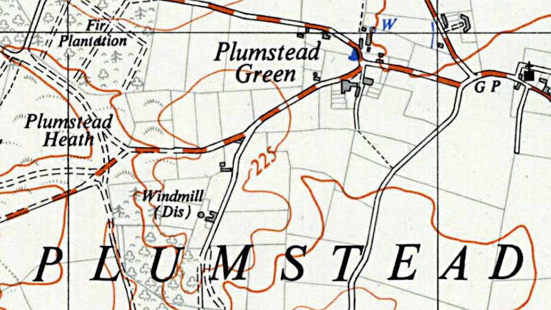 O. S. Map 1956