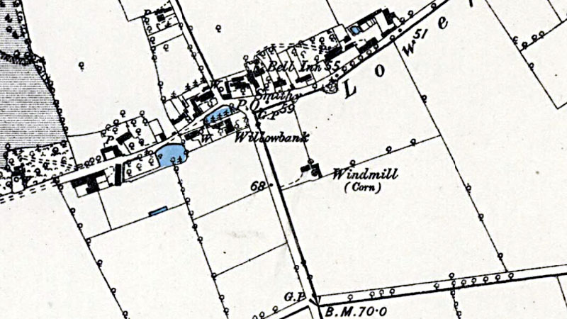 O. S. Map 1881