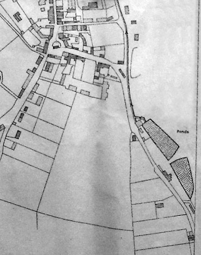 Tithe map 1838