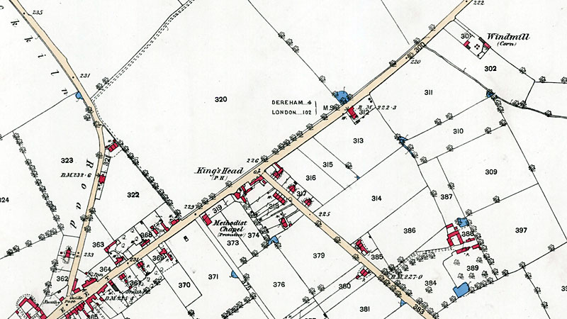 O. S. Map 1882