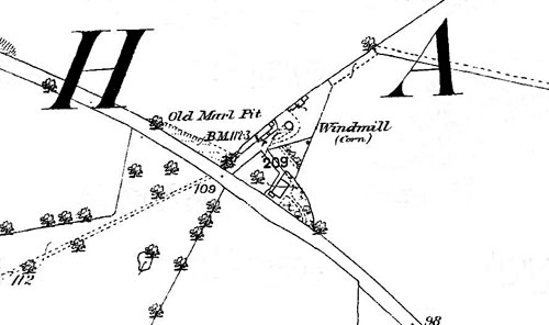 O.S. Map 1883