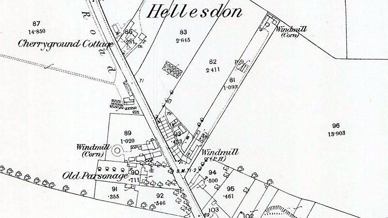 O. S. Map 1883