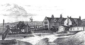Hassets house and mill 1791