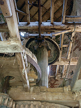 Mill interior 12th September 2009