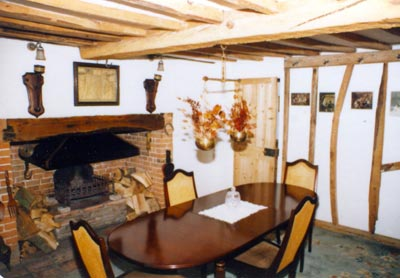 Mill House dining room 1987