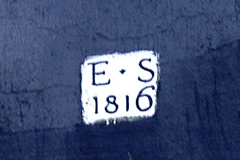 Edward Savory 1816 datestone