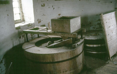 Stones and tun on the 2nd floor c.1982