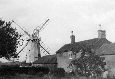 Mill and mill house c.1939