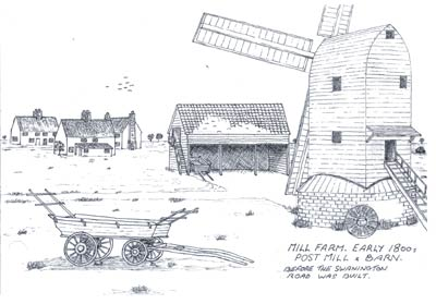 Early 1800s sketch by Andrew Bryan
