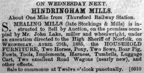 Norfolk News - 24th April 1885