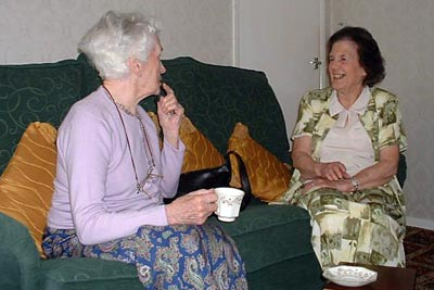 Vera Woolacott & Ruth Christmas 27th June 2005