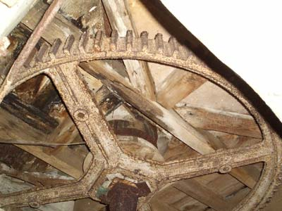 Great spur wheel 4th November 2005