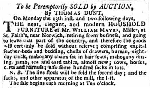 Norfolk Chronicle - Saturday 11th October 1794