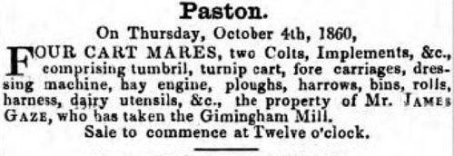 Norfolk Chronicle - Saturday 22nd September 1860