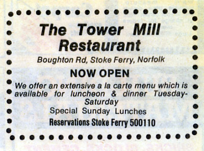 Tower Mill Restaurant