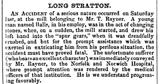 Norfolk News - 10th October 1857