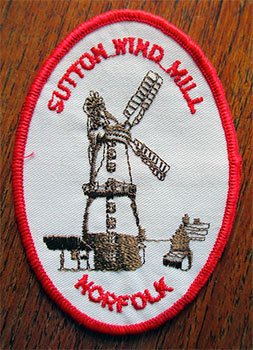 Cloth badge c.1990
