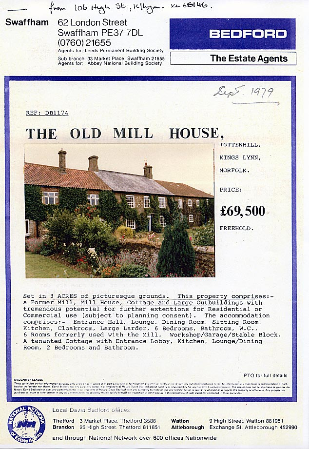 Tottenhill post sale 1969 jpg