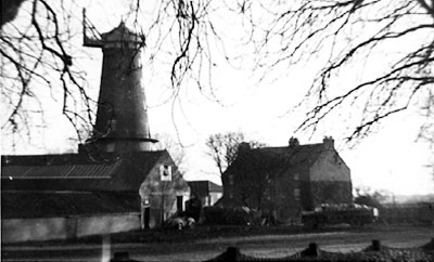 Mill from Hill House Farm c.1950