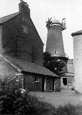 Mill from road c.1954
