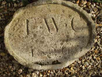 Foundation stone - T.W.C. 1826 - 24th March 2004
