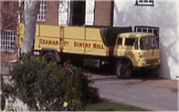 R.J. Seamans' lorry in September 1965