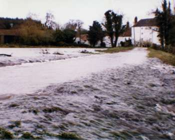 Flood during the 1990s