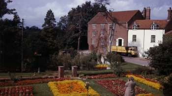 Bintry gardens in September 1965