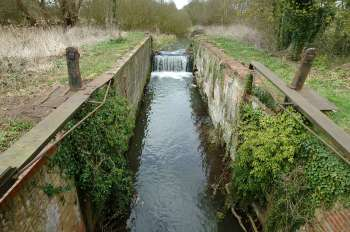 Briggate lock 6th April 2003