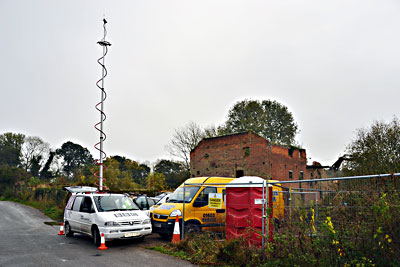 BBC Radio Norfolk's radio car Tuesday 30th October 2012