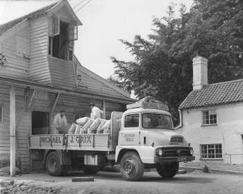 Ford Thames Trader delivery lorry c.1960