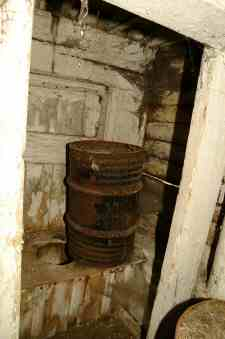 The old privy May 2003