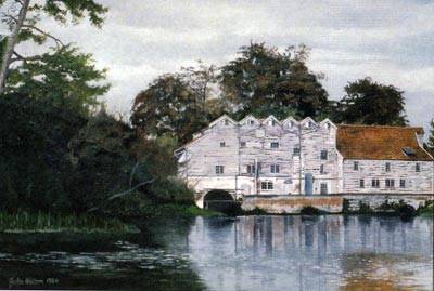 Watercolour by John Watson in 1986