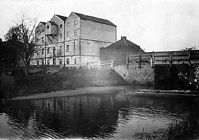 Buxton lock exit in 1928