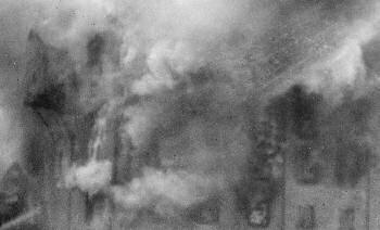 The mill on fire Monday 7th July 1924
