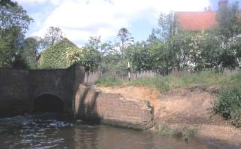 Millpool and house June 1969