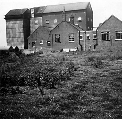 Mill rear with WWII camouflage c.1955