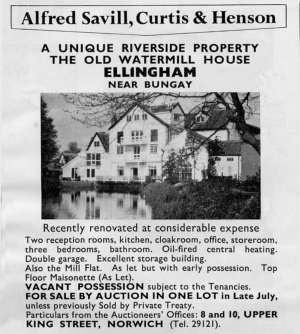 1970 Auction advert