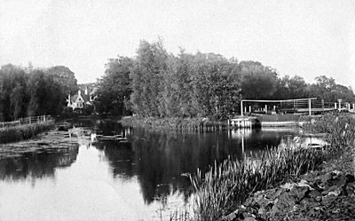 Mill and lock c.1912