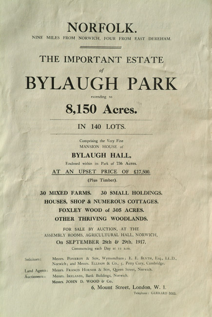 Sale Catalogue 1917