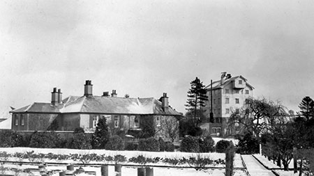 Mill House and Mill c.1932