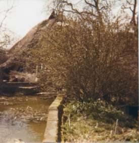 Mill leat in 1977